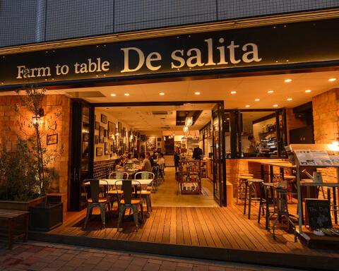 Farm to table De salita 国分寺 おすすめ ランチ
