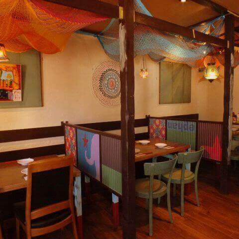 個室Asian Dining 2階のぞうさん国分寺店 おすすめ ランチ