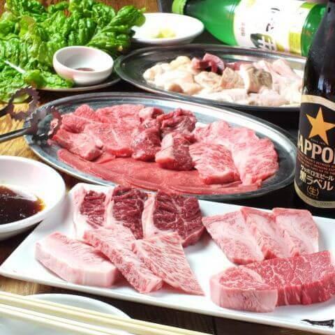 特上肉盛り合わせ どんどん 新宿歌舞伎町 新宿 一人肉 東京