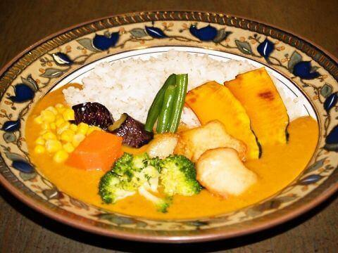 野菜カレーの写真