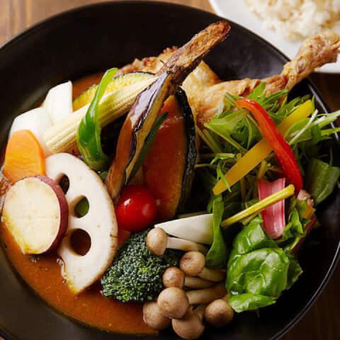 スープカレーの写真