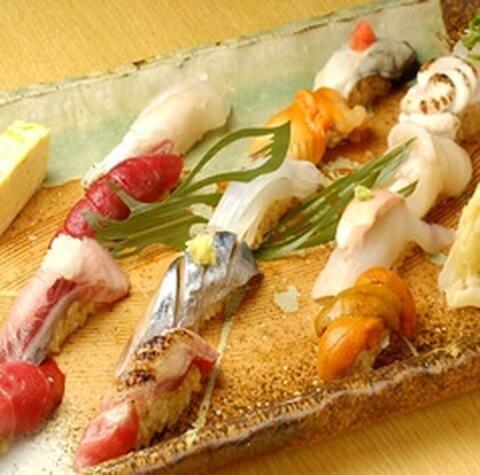 江戸前鮨の写真