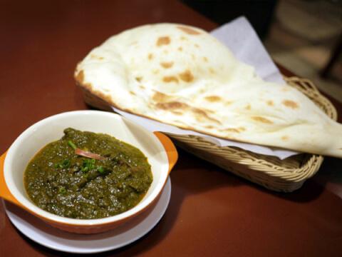 インディアの料理