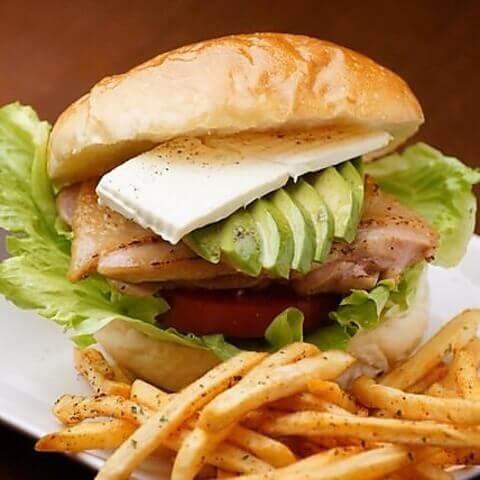Indigoのサンドイッチ