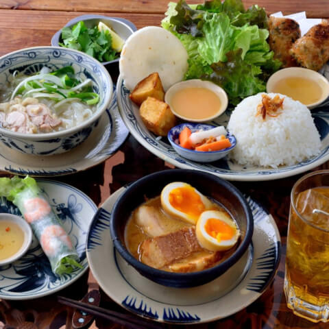 ベトナム料理 インドシナ エスニック 淀屋橋 ランチ