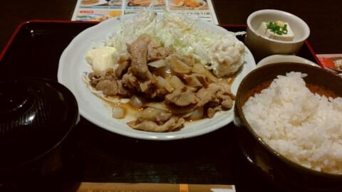 ikebukuro-lunch-irohanihoheto-shogayaki