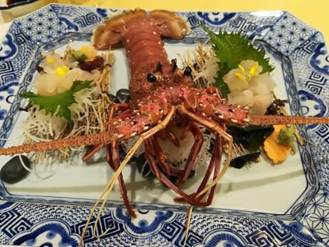 活伊勢海老 中納言 梅田 ディナー 東梅田 個室 海鮮 和食 魚介 夜景  おすすめ