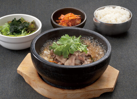 浜松町 ランチ 韓豚屋 石焼デジプルコギ定食