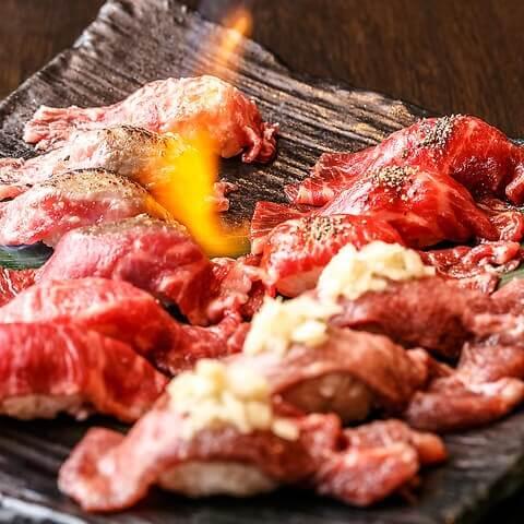 焼肉 一心たん助上野本店 おすすめ 肉寿司