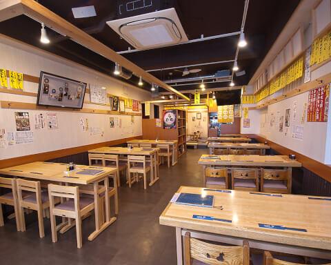 渋谷 居酒屋 おすすめ 居酒屋千 大衆系 テーブル席
