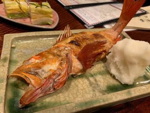国分町の海鮮が安いおすすめ居酒屋、魚が美味しい地雷也