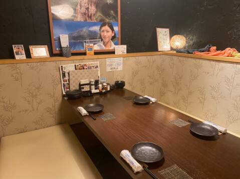 長崎 居酒屋 かこみ庵 内観 個室