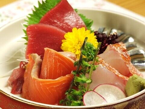 町田_居酒屋_伽むら_個室_デート_女子会_宴会_海鮮_魚_和食_鮮魚の盛合わせ