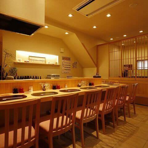 金沢の味 福梅 八王子 居酒屋 おすすめ 和食 カウンター席 一人 海鮮 魚介 個室