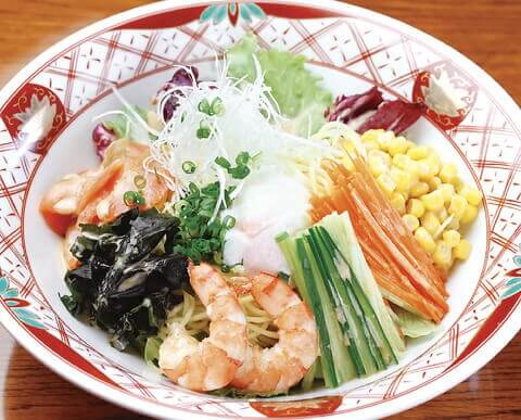町田_居酒屋_函三郎_北海道料理_魚_海鮮_ラーメンサラダ_サラダ