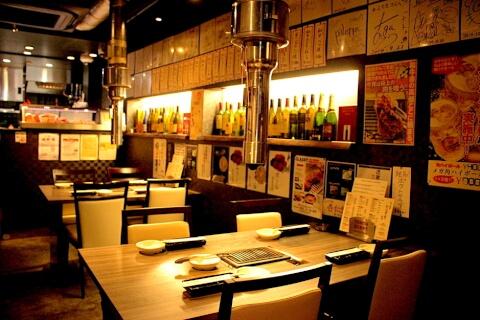 渋谷 焼肉 神戸焼肉 かんてき 店内