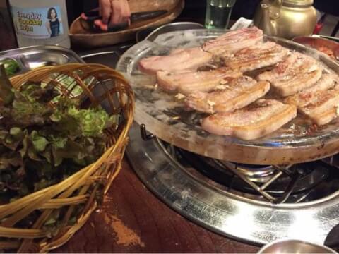 韓国路地裏食堂 カントンの思い出 新大久保 おすすめ サムギョプサル