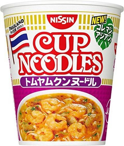トムヤムクン カップ麺