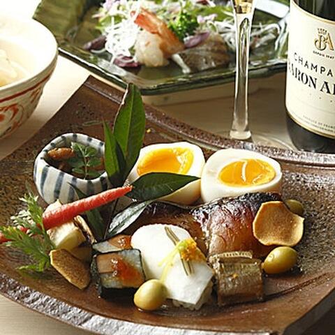 京の魚_かつぎ_カツギ_京都_ディナー
