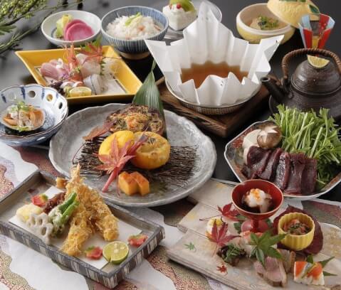 河久 梅田 ディナー 東梅田 個室 夜景 和食 おすすめ