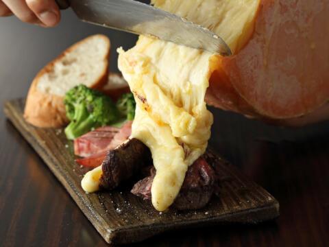新宿 個室 居酒屋 きこり ラクレットチーズ