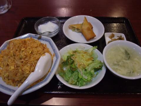 ueno-lunch-wangsan-kimchifriedrice
