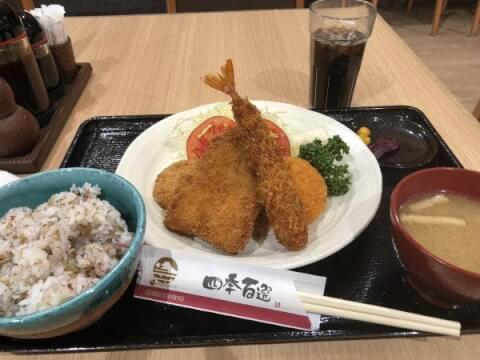 錦糸町 おすすめ ランチ 個室 和食 四季百選