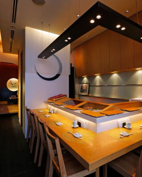 金寿司の店内