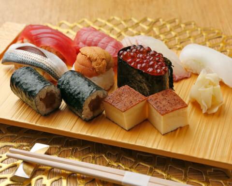 金寿司の晴コース