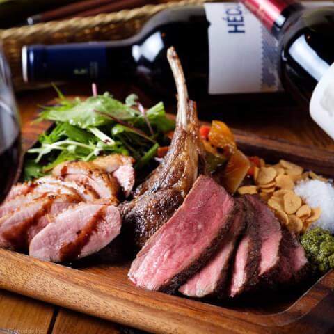 ガブ飲みワインと肉 千住MEAT 北千住 居酒屋 肉 おしゃれ