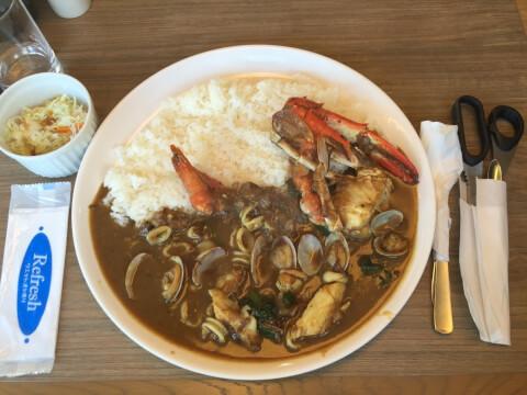 shinagawa-lunch-klark-seafoodcurry
