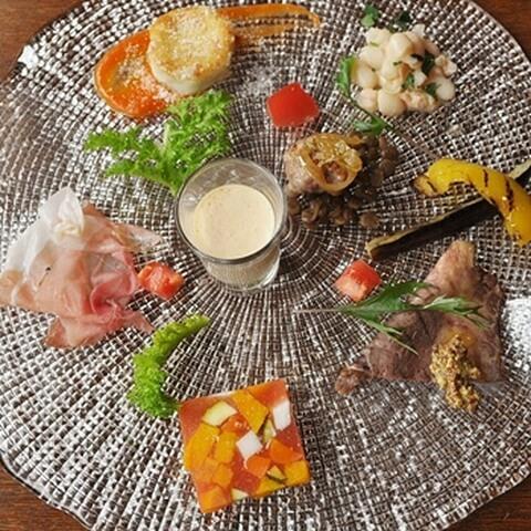 ヴィッラマニョーリア-料理