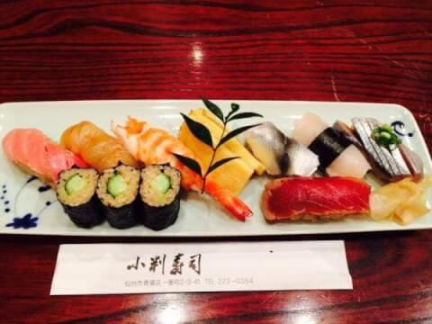小判鮨料理画像