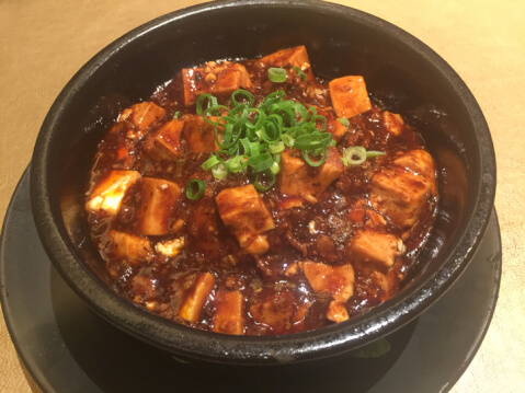 ランチ マーボー豆腐