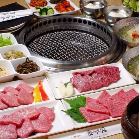 shibuuya-yakiniku-kongoen 渋谷 焼肉 金剛園 肉