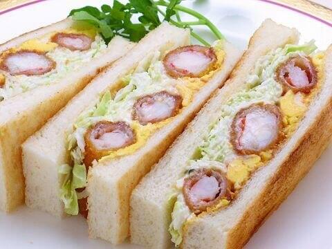エビフライサンドイッチ コンパル メイチカ店 名古屋 ランチ おすすめ 名古屋メシ