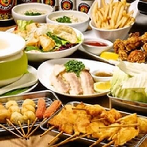恵比寿 居酒屋 串カツ甲子園 肉料理