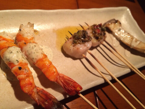 横浜 居酒屋 ブラーチェ 魚料理