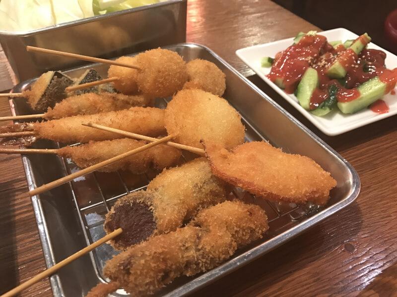 串カツ 美味しい 大阪