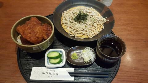 九頭竜蕎麦 ランチ小丼