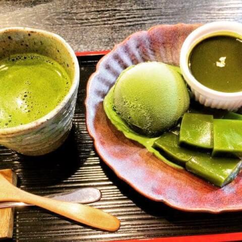 京煎堂の抹茶パフェ