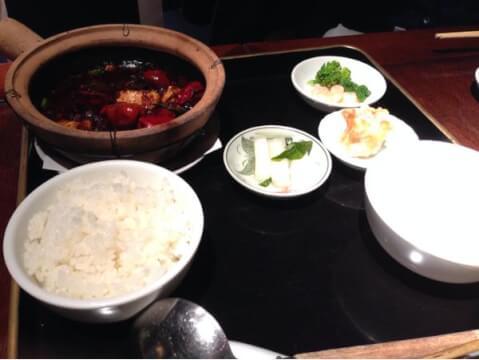 ぽっちり_麻婆豆腐
