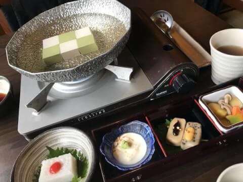 豆腐料理 松ヶ枝  嵐山 京都 デート レストラン おしゃれ 和食 おすすめ