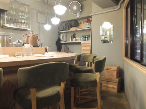 目黒カフェ ランド 店内