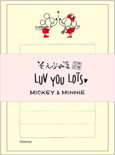 レターセット ミッキー&ミニー