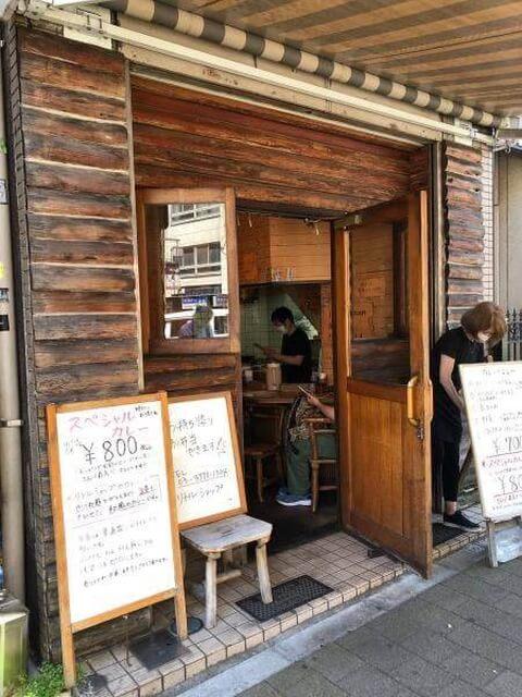 渋谷ランチ カレーやさん リトルショップ 外観