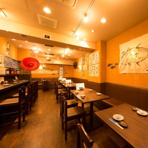 まぐろんち 高田馬場 居酒屋 宴会 和食 海鮮 魚介