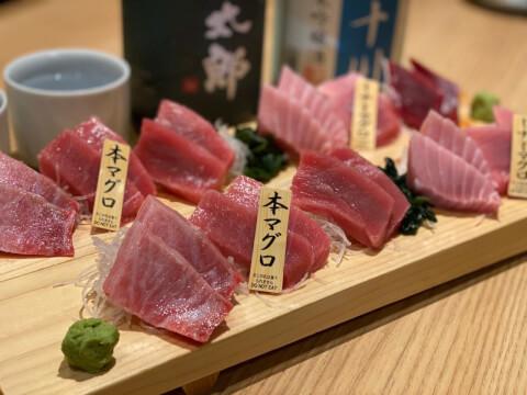 鮪のシマハラ 神保町 居酒屋 おすすめ 海鮮 和食 刺身 本まぐろ