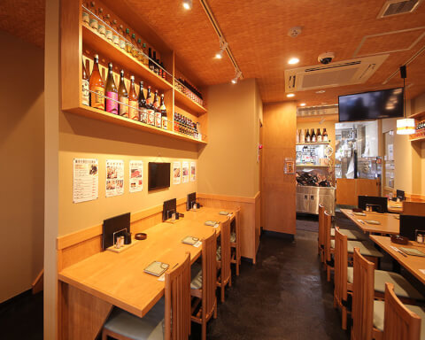 錦糸町の南口のおしゃれで安いおすすめ居酒屋、マグロ酒場、ほんじょ屋