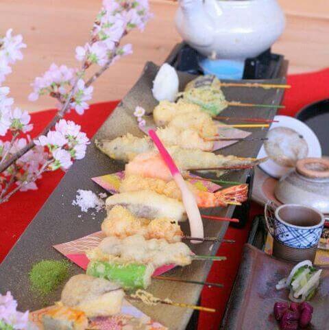 舞妓飯の天ぷら 舞妓飯 嵐山店 おすすめ ランチ 和食
